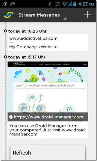 Droid-Manager-Android-App-Stream