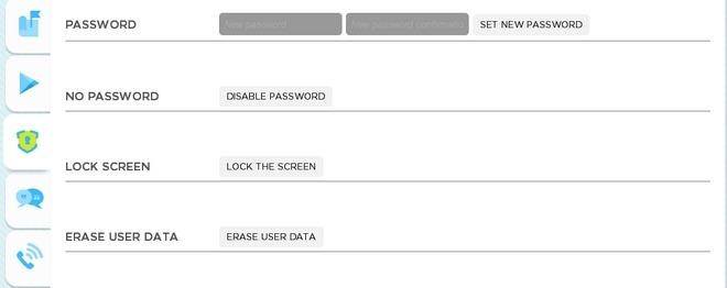 Droid-Manager-Android-Web-Security