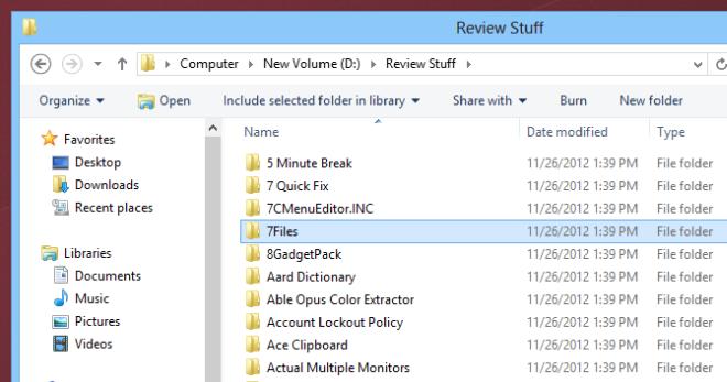 Explorer Toolbar Windows 8
