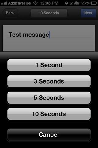 Facebook Poke iOS Time