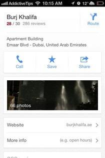 Google Maps iOS 6 Info