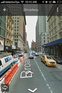 Google Maps iOS 6 Street View