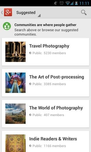 Google -Update-Dec'12-Android-Communities1