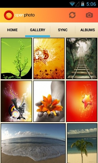 OpenPhoto-Android-Gallery