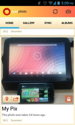 OpenPhoto-Android-Home