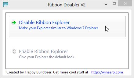 Ribbon Disabler