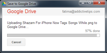 Save Google Drive