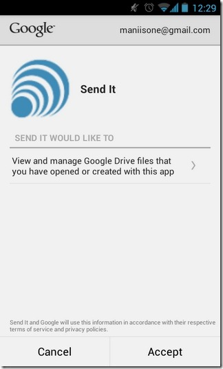 Send-It-Android-Authorize
