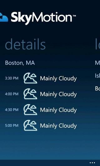 SkyMotion WP Forecast