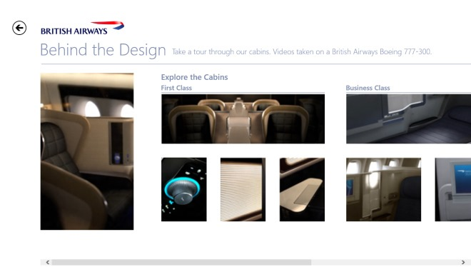 The British Airways Inspiration App_Tour