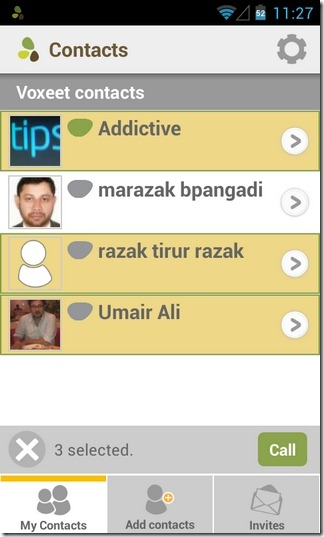 Voxeet-Android-iOS-Contacts