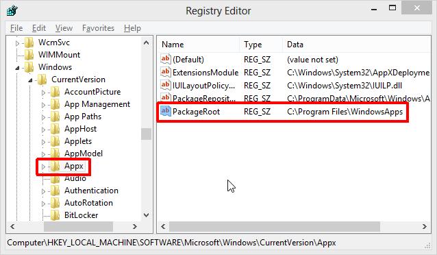 Windows-Registry-PackageRoot.png
