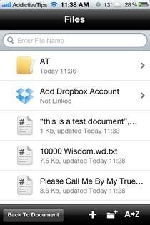 Wisdom iOS Files