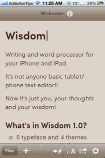 Wisdom iOS Read