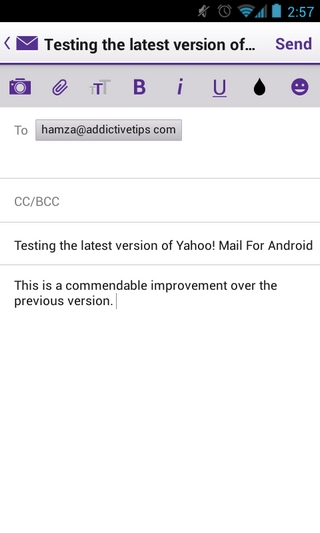 Yahoo! Mail Android Compose