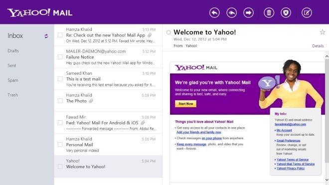 Yahoo! Mail Main