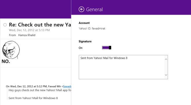 Yahoo! Mail Settings