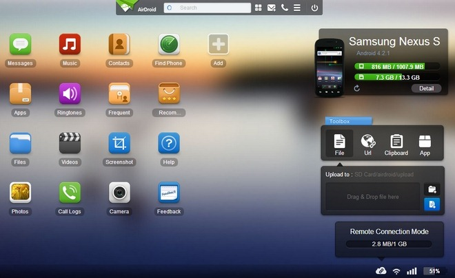 AirDroid2-Android-Web