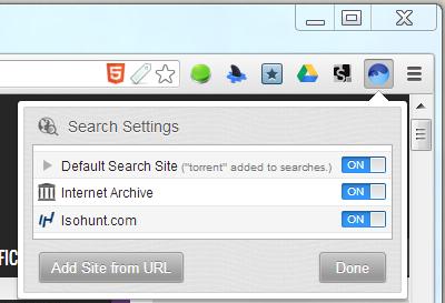 BitTorrent Surf add site