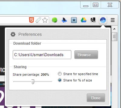 BitTorrent Surf downloads