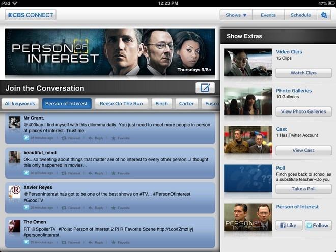CBS Connect iPad Conversation
