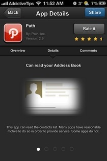 Clueful iOS App Details