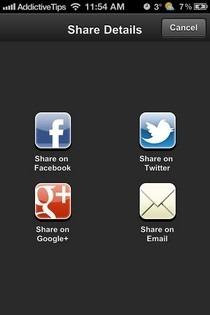 Clueful iOS Share