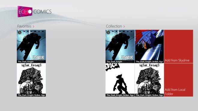Echo Comics Added