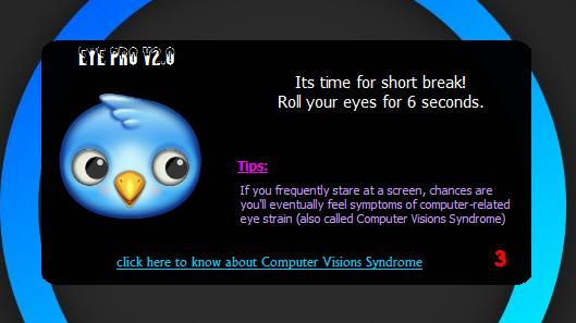 EyePro Notification