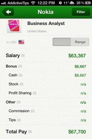 Glassdoor iOS Salary