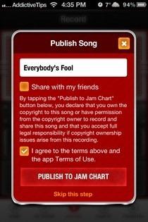 Jam iOS Publish
