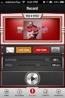 Jam iOS Record