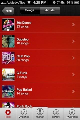 Jam iOS Songs