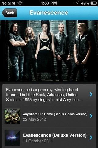 Listn iOS Discover