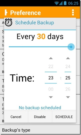 Orange-Backup-Android-Scheduling