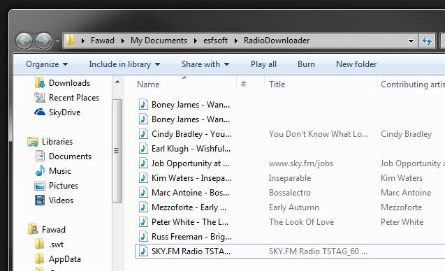 Radio Downloader Saved