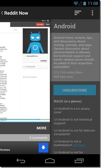 Reddit-Now-Android-Subreddit