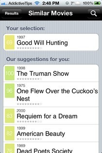 Similar Movies iOS