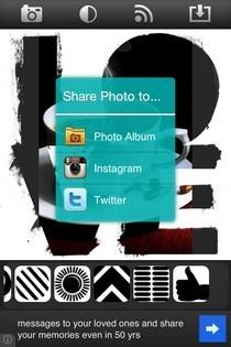SymbolGram iOS Share