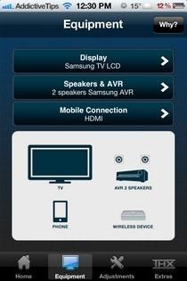 THX tune-up iOS Equipment
