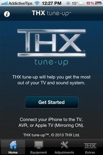 THX tune-up iOS Welcome