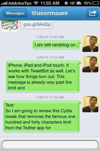 TweetAmplius iOS DM