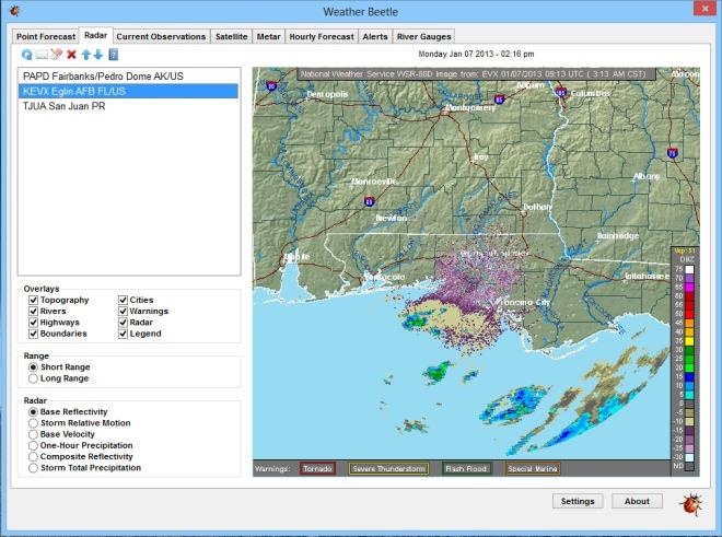 Weather Beetle_Radar