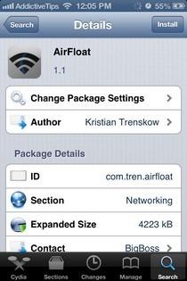 AirFloat Cydia