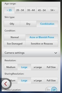Beauty Box iOS Settings
