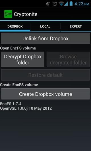 Cryptonite-Android-Dropbox