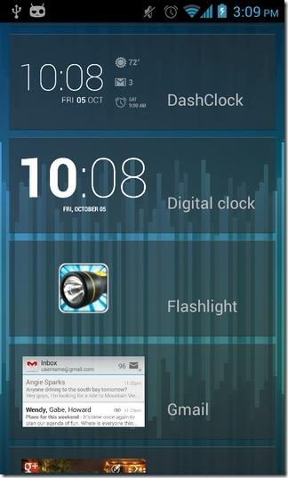 DashClock-Android-Lock