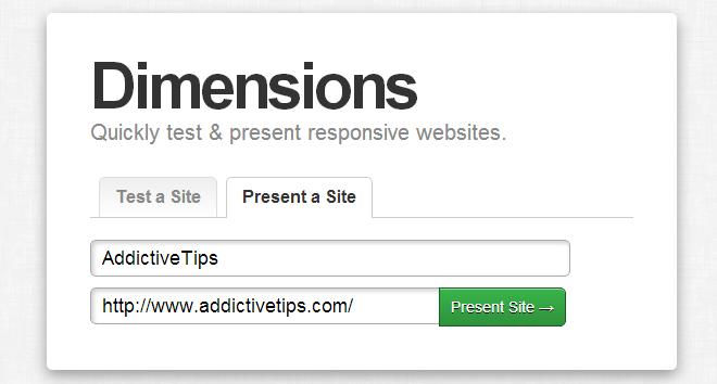 Dimensions website