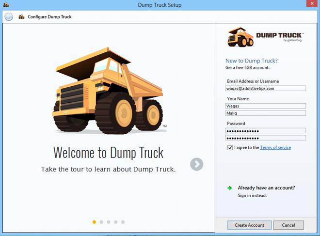 Dump Truck_Setup