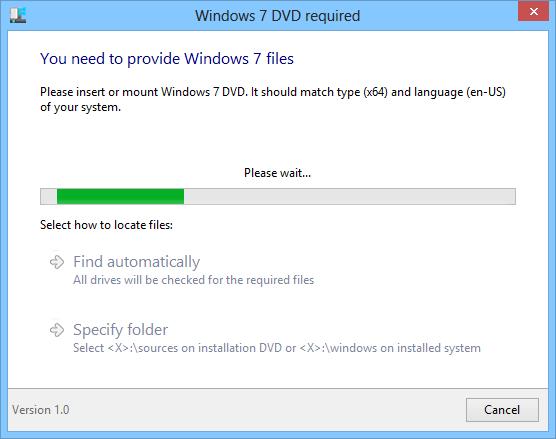 Ex7forW8 Windows 7 DVD